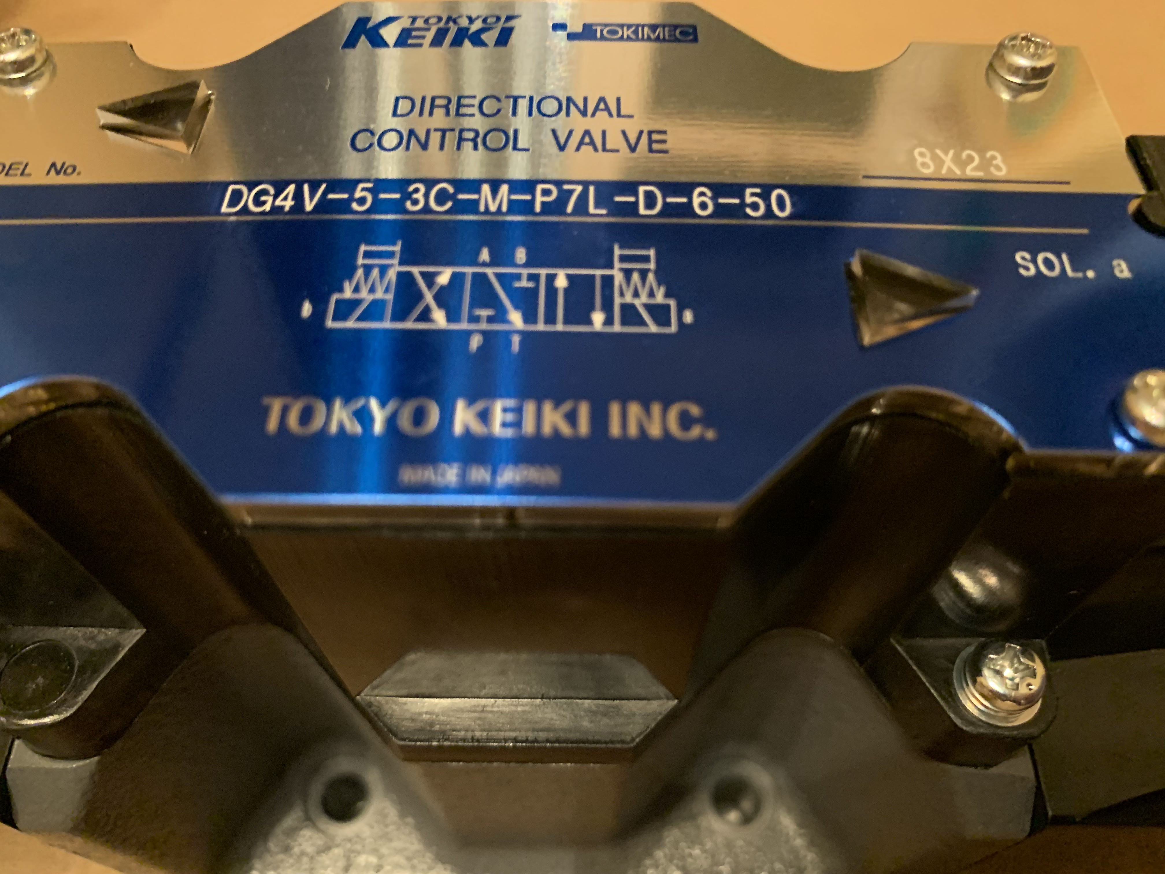 Клапан TOKIMEC (TOKYO KEIKI) DG4V-5-3C-M-P7L-D-6-50